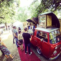The Cocktail Car: A VW Bus Ready To Party.