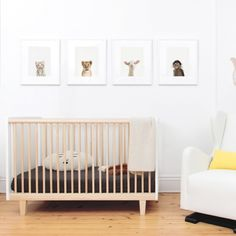 Lit Rhea Bouleau Oeuf NYC - Mobilier - Smallable
