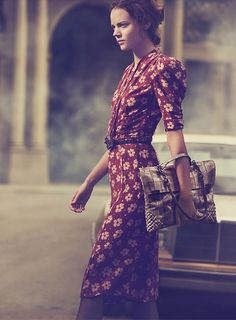 1930s inspired | Bottega Veneta S\13 by Peter Lindbergh