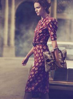 """Exclusif: découvrez la campagne Bottega Veneta pour le printemps-été 2013 photographiée par Peter Lindbergh dans le cadre de la série """"The Art of Collaboration"""""""