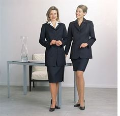 Formal Female Business Dress - Most appropriate when attending business meetings, interviews, pitches etc.