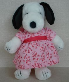 "Rare Snoopy's Sister ""Belle"" Plush ...I had her, I remember the snoopy store at Rosedale Mall in the early 80's...I wanted all her outfits!"