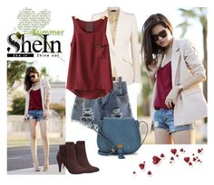 """shein 9"" by aida-1999 ❤ liked on Polyvore featuring Alexander McQueen and Nanette Lepore"