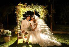 Noiva Ana Paula com Vestido de Noiva Atelier Geraldo Couto