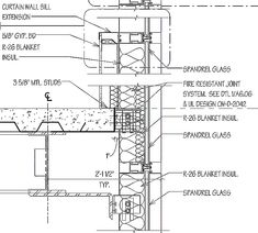 Image Result For Curtain Wall Details