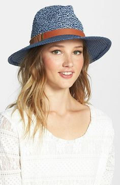 Jessica Simpson Metal Accented Panama Hat available at #Nordstrom