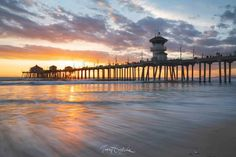 Huntington Beach Ca, Celestial, Sunset, Outdoor, California, Outdoors, Sunsets, Outdoor Games, The Great Outdoors