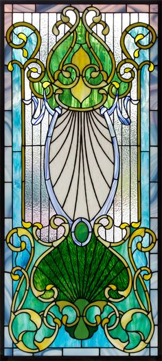 Stained Glass Victorian Door KATGLASS: The Stained Glass Studio of Clearwater