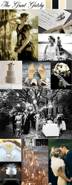 Yes, I would like a Great Gatsby themed wedding! <3