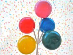 Big Balloon Cluster Cake Novelty Pick by BonFortune on Etsy, $3.00