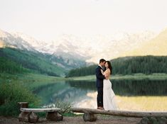 #aandberealbride | katie may gown | colorado wedding | piney river ranch, vail colorado