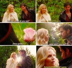 """Emma and Hook - 5 * 4 """"Broken Kingdom"""" #CaptainSwan---- at this point I was squealing and rolling around. My dad was very confused"""