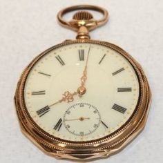 Gold Pocket Watch Gold Pocket Watch, Pocket Watch Antique, Antique Jewelry, Vintage Jewelry, Pendant Watch, Pocket Watches, Engagement Rings, Antiques, Accessories