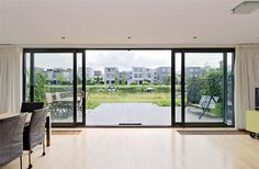 Patio Doors – Amazing Tips On How to clean Window tracks or Sliding Doors Sliding Patio Doors, Sliding Glass Door, Glass Doors, Aluminium Sliding Doors, Porch Windows, Windows And Doors, Home Room Design, House Design, Extension Veranda