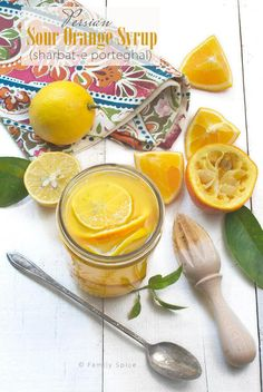 Persian sour oranges, called narenj, are a specialty during Nowruz. They are served with fish and can also be used to make this Persian Sour Orange Syrup. Kumquat Recipes, Grapefruit Recipes, Lemon Recipes, Sour Orange, Orange Syrup, Tangerine Recipes, Orange Recipes, Sour Fruit, New Year's Food