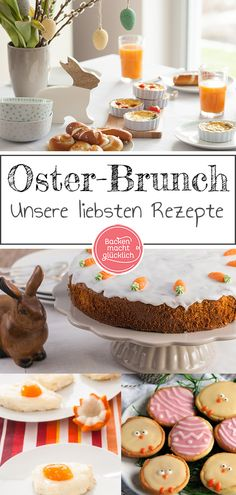 In unserer Rezeptsammlung für… Here are our favorite Easter brunch recipes. In our recipe collection for your Easter Brunch you will find sweet and spicy recipes that fit perfectly into the spring. Spicy Recipes, Baking Recipes, Easter Recipes, Holiday Recipes, Recipes Dinner, Cupcakes, Mexican Breakfast Recipes, Christmas Brunch, Le Diner