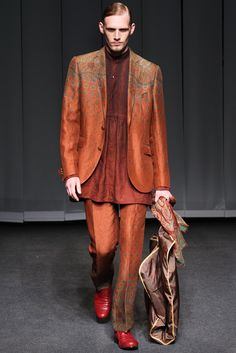 Etro Spring 2013 Menswear Collection Slideshow on Style.com