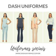 30e6f0f6ec Uniformes Profissionais e Sociais Masculinos e Femininos. Dash Uniformes