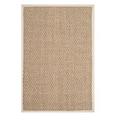 For base layer in living room and possibly under formal dining table. Also comes in round - could do in b-fast nook. Found it at Wayfair - Humarock Natural Area Rug