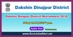 Dakshin Dinajpur District Recruitment 2018 – Walk in Interview for GNM Posts, Salary Rs. 17,220/- : Apply Now !!!  The Dakshin Dinajpur District Recruitment 2018 has released an official employment notification inviting interested and eligible candidates to apply for the positions of GNM. The Closing date for apply of Dakshin Dinajpur District Recruitment 2018 is on or before February 02, 2018.   #2018 #DakshinDinajpurDistrict #DakshinDinajpurDistrictRecruitment #Dakshi