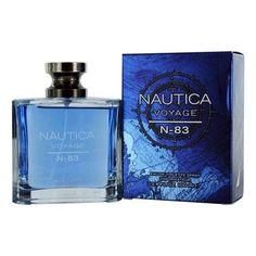 Nautica Voyage N-83 by Nautica 3.4 oz EDT Cologne Spray for Men New in Box #Nautica
