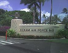 Hickam Air Force Base, Hawaii (Dec 2001 - Nov 2004)