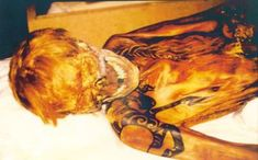 Sythian mummy tattoos