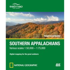 Trails Illustrated SD Card: Southern Appalachians | National Geographic Store