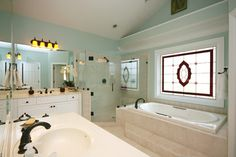 Sterling Pointe Redesign - traditional - bathroom - charlotte - Jamie McNeilis, Accredited Staging Professional            Love this!