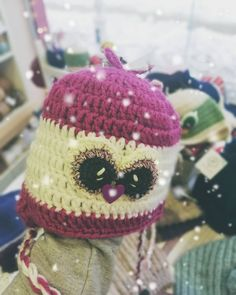 💜purple nose💜  #crochettime #lovecrochet #knittingtime #knitlife #bhooked #crocheting #crochetaddict #knittinginstagram #loveamigurumi… Captain Hat, Hats, How To Make, Instagram, Hat, Hipster Hat, Caps Hats