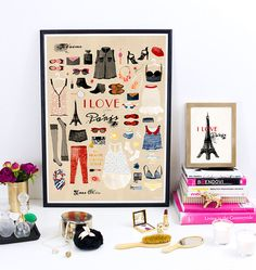 Très Chic / 30% OFF SALE, Paris, French, chic, fashion, quote, illustration, love, woman, girl, wall art, digital print, poster, 30x40 cm by matejakovac on Etsy https://www.etsy.com/listing/164939790/tres-chic-30-off-sale-paris-french-chic