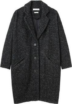 Étoile Isabel Marant / delphe herringbone coat on shopstyle.com