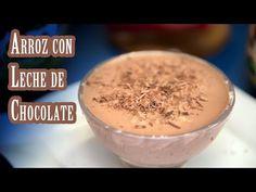 (6) Como Hacer Arroz con Leche de Chocolate Receta Buenisima - YouTube