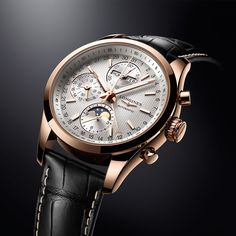Longines Conquest Classic Moonphase Automatic Watch - For more information please visit: http://www.boxfox1.com/2015/04/longines-conquest-classic-moonphase.html