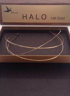 A personal favorite from my Etsy shop https://www.etsy.com/listing/251901027/halo-headbands-14-k-gold-two-strands-of