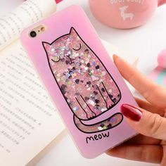 Iphone 6 S Plus, Iphone 7, Iphone Cases, Fluffy Phone Cases, Girly Phone Cases, Phone Covers, Cat Flower, Phone Case Store, Kawaii Phone Case