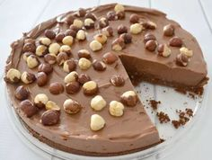 Recipe No bake chocolate and nutella cheesecake by learn to make this recipe easily in your kitchen machine and discover other Thermomix recipes in Desserts & sweets. Cheesecake Thermomix, No Bake Nutella Cheesecake, Thermomix Desserts, Chocolate Cheesecake, Cheesecake Recipes, Best Nutella Recipes, Chocolate Ripple Biscuits, Sweets Recipes, Dinner Recipes