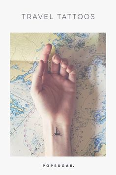 101 Unique Travel Tattoos to Fuel Your Eternal Wanderlust Travel Cubes, Airplane Tattoos, Daily Life Hacks, Golf Travel, Travel Bag, Cheap Travel, France Travel, Travelers Notebook, Travel Advice