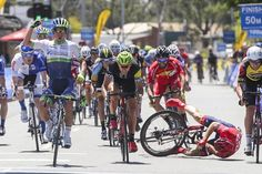 Caleb Ewan sprints to stage 2 victory in the Jayco Herald Sun Tour Cycling Events, Cycling News, Pro Cycling, Grand Tour, World Championship, Victorious, Stage, Bicycle, Racing