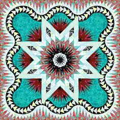 Check out this original color-way designed by Judel N. Sign up for a chance to participate in a private beta invite on www.quiltster.com