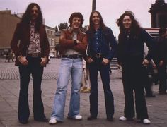 Rory Gallagher and his magical band; Lou Martin, Gerry McAvoy & Rod de'Ath