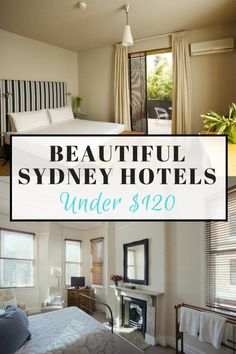 Everyone should get the chance to visit the vibrant, multicultural city of Sydney, but let's face it, this city is expensive. Here we've helped you to save cash by staying in one of these beautiful yet cheap Sydney hotels for under $120. You're welcome! (click through to read):