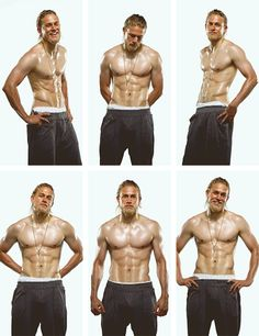 Every Part of Charlie Hunnam's Perfect Body Belongs in a Museum