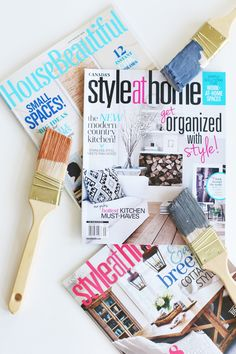 We love finding FATspiration in magazines like Style At Home and House Beautiful. Where do you find your creative fire?