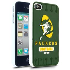 NFL Green Bay Packers Hard Case With Logo for Apple iPhone 4/