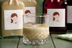 Crema de whisky (Baileys casero) - MisThermorecetas Licor Baileys, Sorbets, Flan, Cocktails, Drinks, Glass Of Milk, A Food, Cooking, Sweet