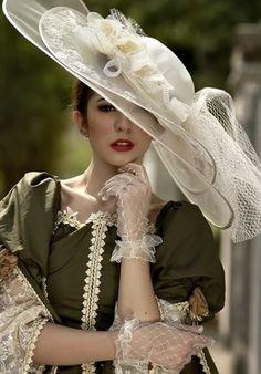 Vintage Wedding--- love the gloves!!