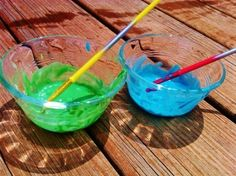 The Ultimate Homemade List - A how to guide for homemade bubbles, face paint, and even chalk!