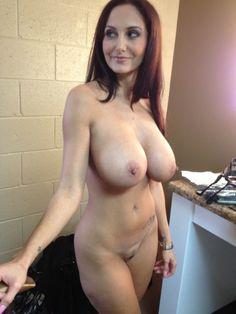 Petite busty brunette cumshot gif