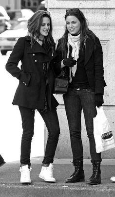 Kristen and Nikki